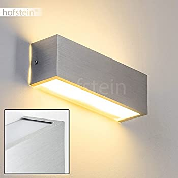 Modern Up Down Wall Lights For Indoor Brushed Aluminum