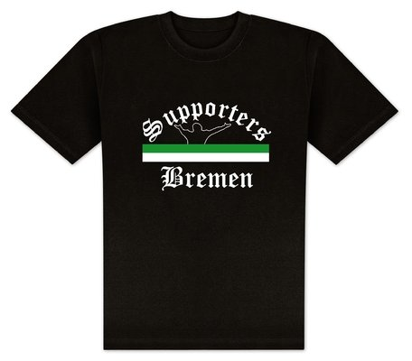 World of Football T-Shirt Supporters-Bremen