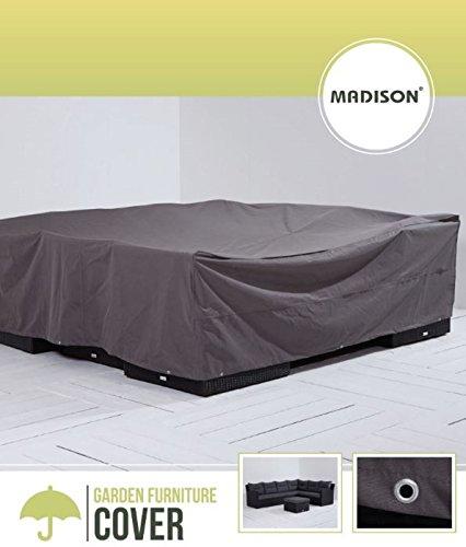 Madison Atmungsaktive und Wasserabweisende Schutzhülle in anthrazit für Lounge Möbel oder...