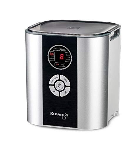 KUVINGS KGC621S Power Fermenter Grau-KGC621S Joghurtbereiter, 44 W, 2 Liter, Grau