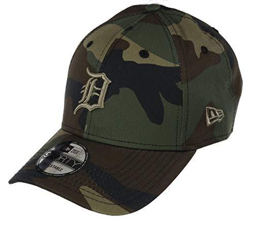 New Era Detroit Tigers 9forty Adjustable cap Camo Essential Woodland Camo -  One-Size 593d8304bfcf