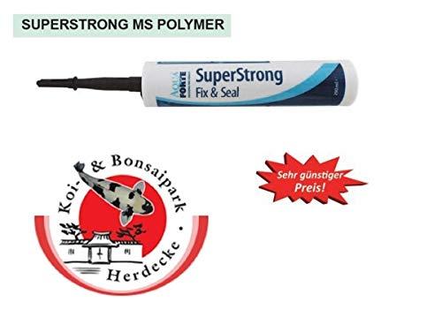 10 x Aquaforte SUPER-Strong MS Polymer Folien Kleber/Dichtmasse für Teiche