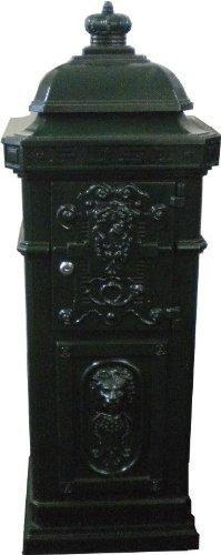Englischer Standbriefkasten Grün Briefkasten Postkasten Antik Stil Jugendstil