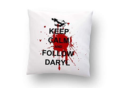 Kissen mit Print The Walking Dead Daryl Dixon