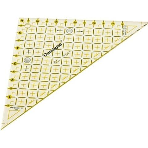 Prym Quick - Triangolo con scala in pollici, da 1/2 a 6 pollici