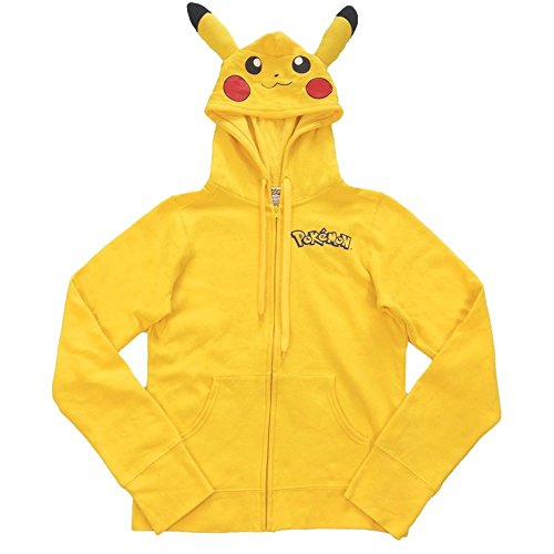 achu Zip-Up Hoodie Sweatshirt with Ears | XL ()