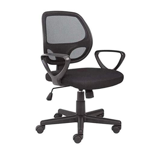 YouYou-YC Mesh-Computer-Bürostuhl Ergonomisches Design Verstell- Und Swivel Stoff Metall Computer Stuhl Mit Komfortablen Rückenstütze -