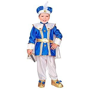 WIDMANN - Disfraz de princesas y príncipes para niños, multicolor, 116 cm/4 - 5 años, 34765