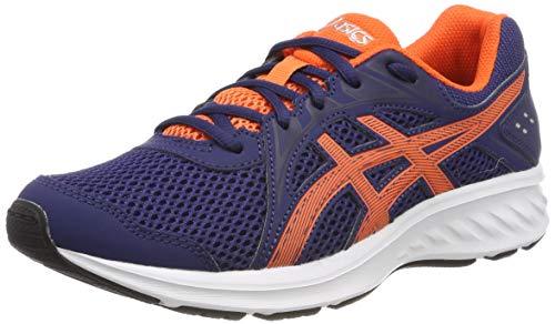 Asics Jolt 2 GS, Zapatillas de Running Unisex Niños, Azul (Indigo Blue/Nova Orange 404), 39.5 EU