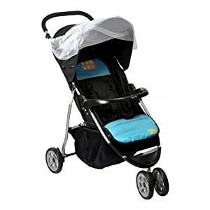 3 Wheeler Stroller MM-38 Blue