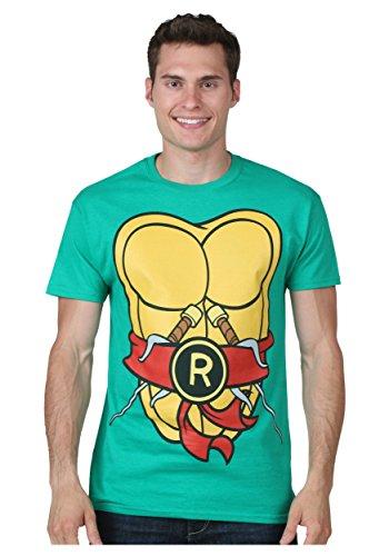 I Am Raphael TMNT Fancy dress costume T-Shirt Small