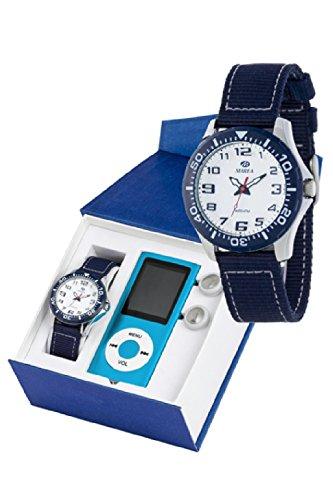 Reloj Marea Cadete B35278/1 Tela MP4 de Regalo