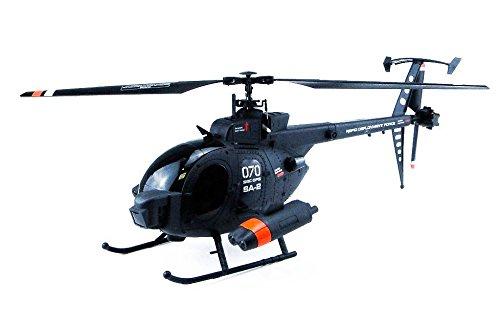 Hunting Sky 2.4G 4Ch Single Blade 61cm. - Helicóptero Teledirigido