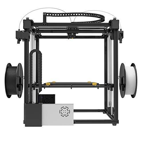 TRONXY X5ST-2E 3D-Drucker 2 in 1 Out-Extrusions-Bausatz, Filament-Sensor-Resume-Druckwürfel-Vollmetallquadrat mit 3,5-Zoll-Touchscreen Großes Druckformat 330 * 330 * 400 - 5