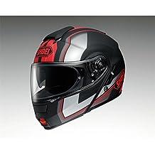 Shoei Neotec Imminent Flip Front Motorcycle Helmet L Black Red (TC-1)