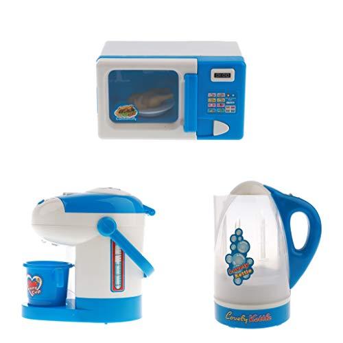 Mini Simulación De Electrodomésticos De Juguete - Horno De Microondas Dispensador De Agua Hervidor