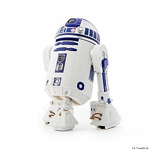 Sphero- Star Wars R2-D2 App-Enabled Droid, Color Azul, Blanco, 17 cm (R201ROW)