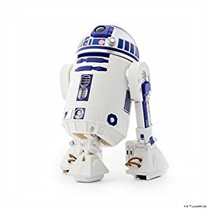 Sphero- Star Wars R2-D2 App-Enabled Droid, Color Azul, Blanco, 17 cm (R201ROW)