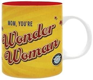 abystyle-abymug379DC Comics taza Wonder Woman Mom para Adultos, abymug379