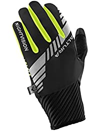 Altura Night Vision 3 Windproof Guantes, Mujer, Negro, S
