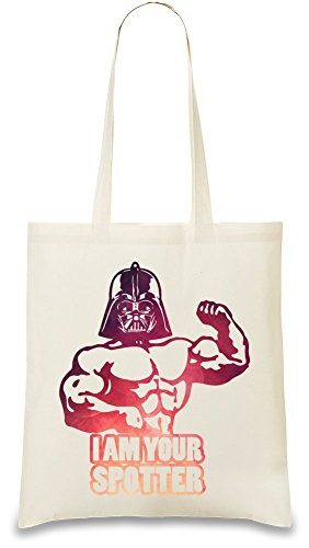 i-am-your-spotter-gym-mashup-custom-printed-tote-bag-100-soft-cotton-natural-color-eco-friendly-uniq
