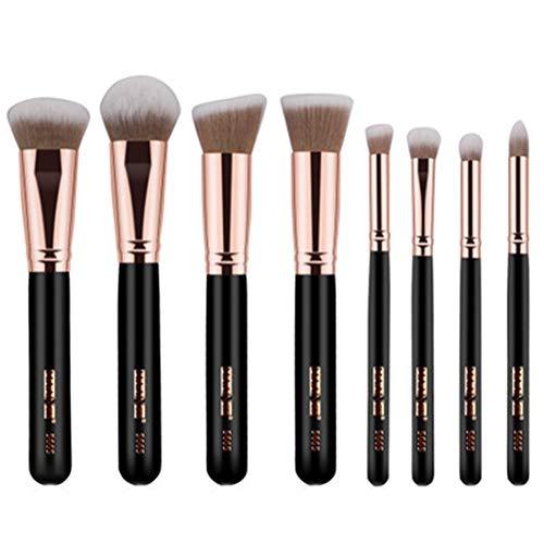 Lot de 8 Set Outils Pinceaux Maquillage Pinceaux pour le Yeux Ombre à Paupières Sourcils Shader Concealer Cosmetics Brush