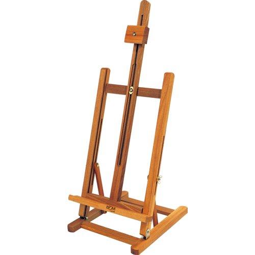 Dom 40, cavalletto da tavolo, legno di faggio verniciato, 28 x 32 x 96 cm