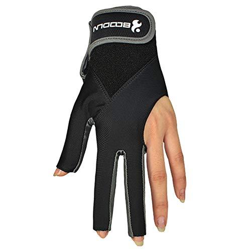 Festnight Cue Gloves 3 Fingers B...