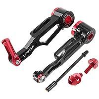 Lixada Frenos V Brake Delantero Kit Aleación de Aluminio Brazo Largo para 16 Pulgadas/18 Pulgadas/20 Pulgadas Bicicleta Plegable