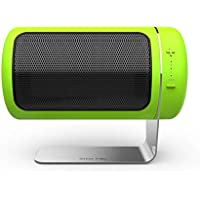 Dozktlife Mini-Desktop USB-Akku-Elektro-Heizung Elektrische Tragbare Lüfter Heizung,Green