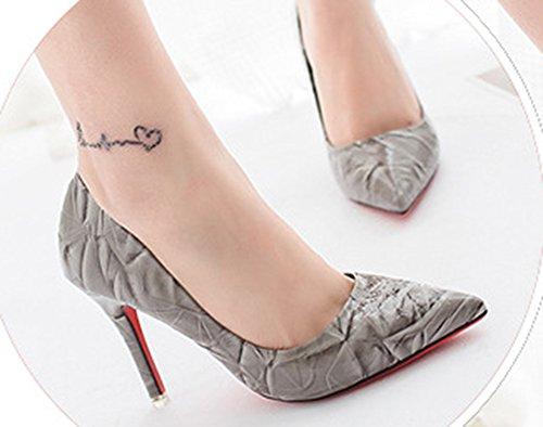 Cinturino Di Di Moda Donna Scarpe Sfera Aisun Mettere Caviglia Alla Grigie rBwxgqUr