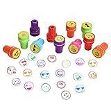 Willingood Stempelset Tiere, 26 Stuck, Niedliche Spielzeugstempel aus Plastik fur Spiel, SpaB, Hobby und mehr hergestellt von Willingood