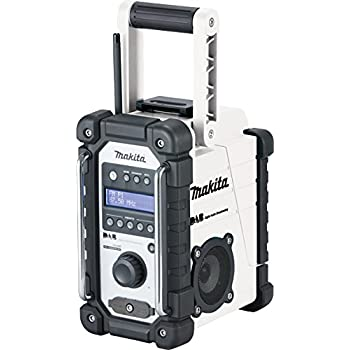 Makita DMR107 18V-10.8V LXT//CXT Job Site Radio with 1 x 4.0Ah BL1840 Battery /& 1 x DC18RC Charger