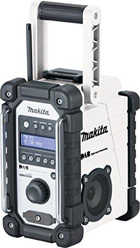 Makita Dmr109W DAB Radio-Blanc (2pièces)