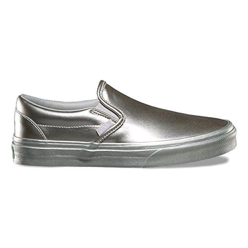 Vans U Classic Slip-on, Baskets mode mixte adulte Silber