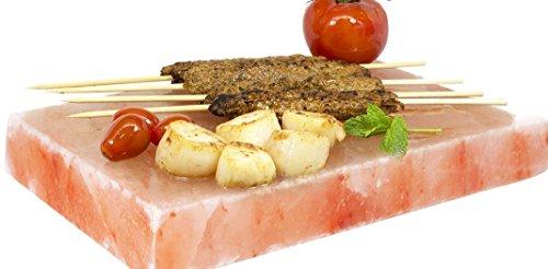 2x Gourmet Salz Grill Steine,20x10x2,5 Original Himalaya Salz Süd Punjab Pakistan-Direkt Anbieter