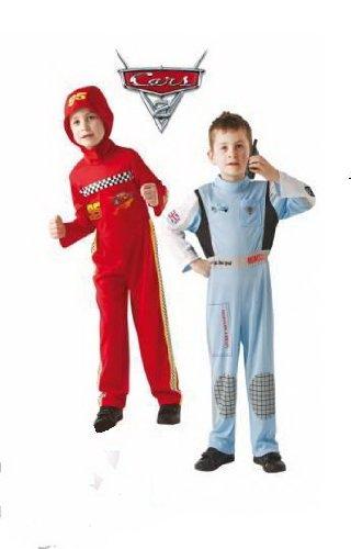 Disney Cars Lightning McQueen + Finn McMissile Kostüm Set Alter 7-8