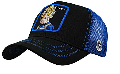 Collabs Gorra Dragon Ball Z Vegeta Trucker