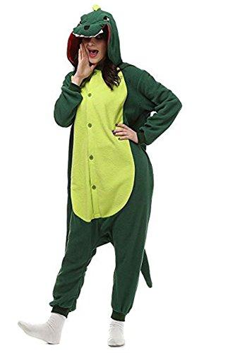 Missfox Kigurumi Pyjama Adulte Anime Cosplay Halloween Costume Tenue Dinosaure X-Large