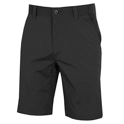 Dwyers 2017Golf Micro Tech Explorer Shorts ds066, Schwarz