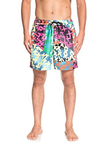 Quiksilver Variable Shorts, Hombre, Black, L