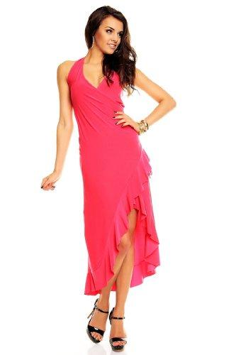 Neckholder Salsa kleid Latina Partykleid Sommerkleid Discokleid (Kleid Sexy Salsa)