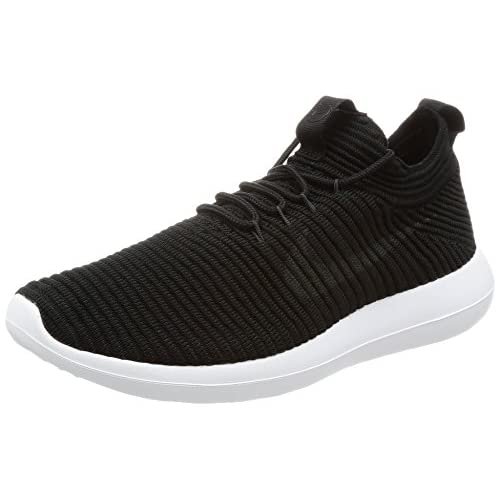 41m1FQahiKL. SS500  - Nike Women's Roshe Two Flyknit V2 Black/Anthracite/Black/White Running Shoe 6.5 Women US
