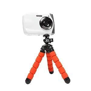 XSories MTRI/ORA Mini deluxe Trépied pour Appareil photo/Téléphone portable Orange