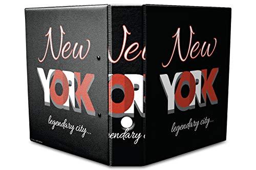 Archivador A4 Carpeta 2 anillas 60mm impreso New York