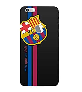 Takkloo Football club ( Sports, Men Sports, Women Sports, Symbol of football club, Black Background) Printed Designer Back Case Cover for Apple iPhone 7 (Logo View Window Case)