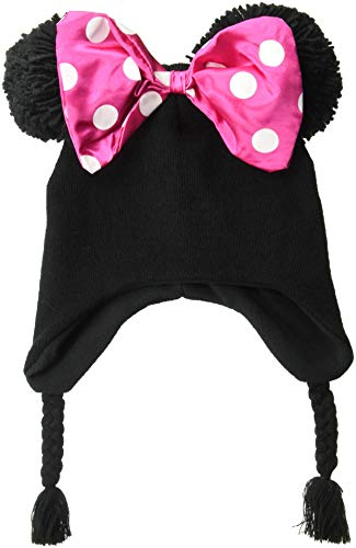 Kostüm Big Girl - Disney Big Girls Minnie Maus Schleife Peruanisch - Schwarz - Einheitsgröße