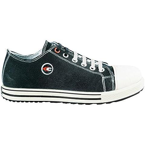 Cofra zapatos de seguridad free S1 P Old Glories 35021-002, de zapatillas-aspecto, colour negro, Negro,