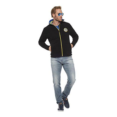 NEBULUS FLEECEJACKE IVAN, Jacke, Schweden-Style, Outdoor (T119) Schwarz