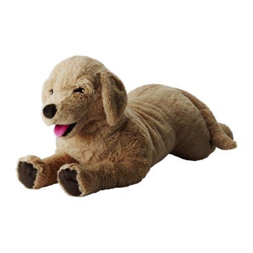 IKEA Stofftier GOSIG GOLDEN - Plüsch-Hund Retriever mit länge 70cm